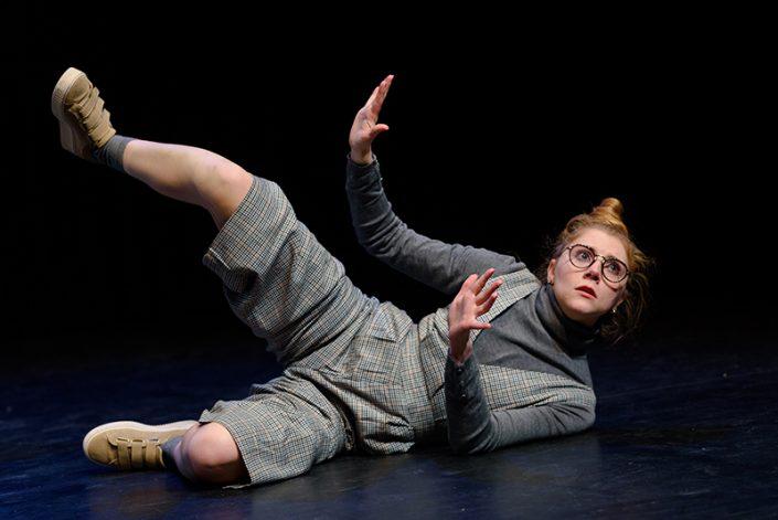 Foto van de jeugdtheatervoorstelling Nee van Theatergroep Onder Het Buro