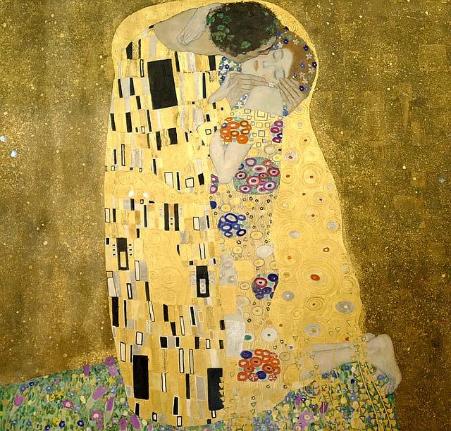 Een van de favoriete kunstenaars van Kwannie is Gustav Klimt